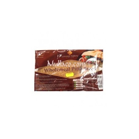 Leicester Bakery Wholemeal Pitta Bread (6pc)