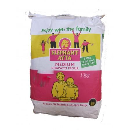 Elephant Medium Chapati Atta Flour 10kg