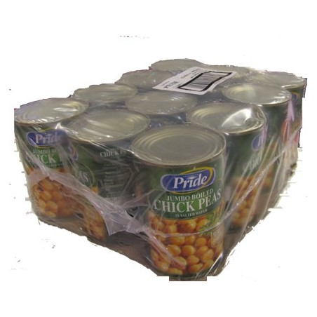 Boiled Chick Peas Tin Case (12 x 400g)