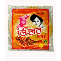 Lizzat Papad Red Chilli 200g