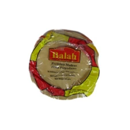 Papad Madras Plain Balah 200g