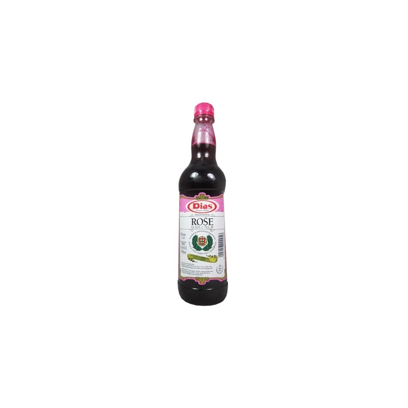 Dias Cordials Rose Syrup 750ml