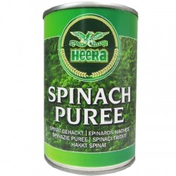Heera Canned Spinach Puree 395g