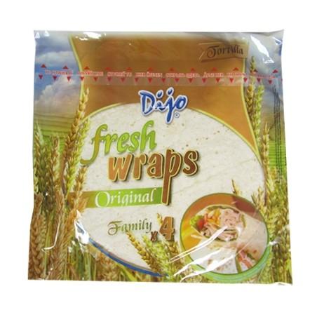 Dijo Fresh Tortilla Wraps (4 Pack)