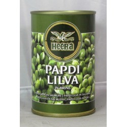 Heera Papdi Lilva Indian Beans in Brine 400g
