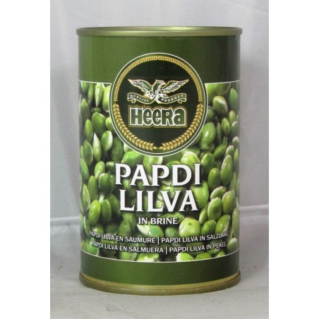 Heera Papdi Lilva Indian Beans in Brine 400g