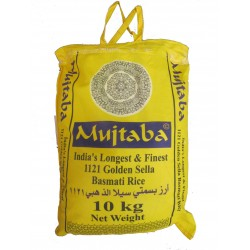 Mujtaba Golden Sella Basmati Rice