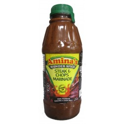 Aminas Wonder Spice Steaks and Chops Pour-on