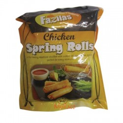 Fazilas Chicken Spring Rolls 20's
