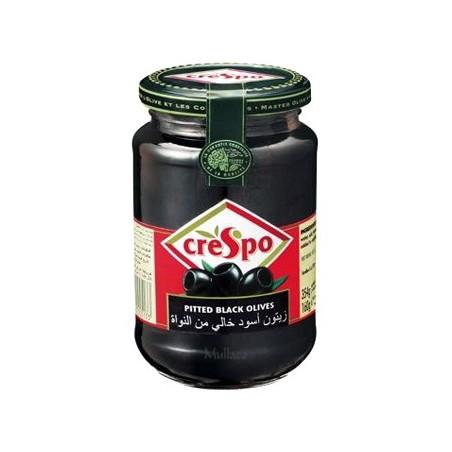 Olives Crespo Black Pitted 354g