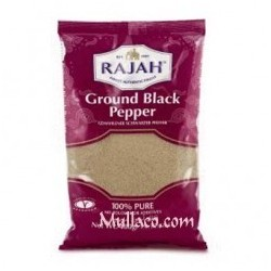 Black Pepper Ground Rajah Mari 400g