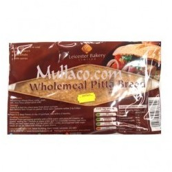 Leicester Bakery Wholemeal Pitta Bread
