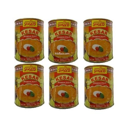 Swad Kesar Mango Pulp ull case (6 x 850g)