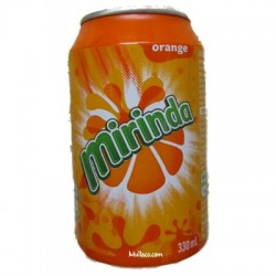 Miranda Orange Cans