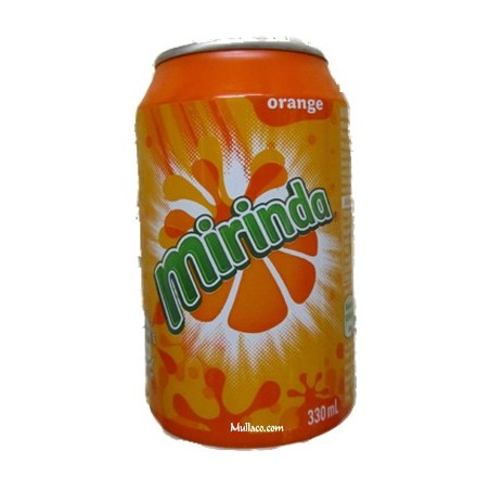 Miranda Orange Cans 330ml