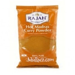Curry Powder HOT Madras Rajah
