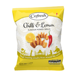 Cofresh Chilli and Lemon Potato Grills 80g