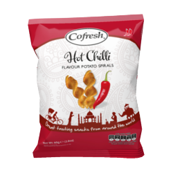 Cofresh Hot Chilli Potato Spirals 25g