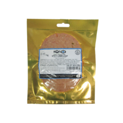 KQF Spicy Lamb Loaf Sliced 75g