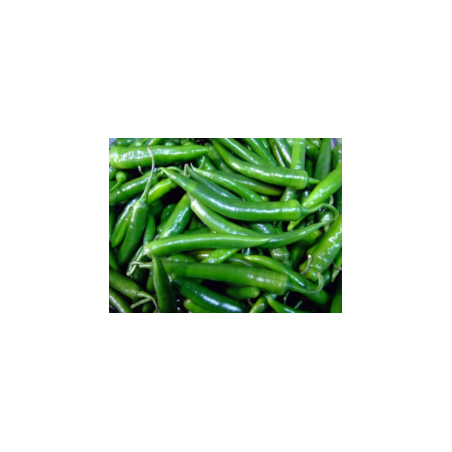 Dutch Green Chillies 500g