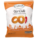 Cofresh Hot and Spicy Chilli Hoops 80g