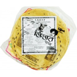 Lizzat Papad Green Chilli 200g