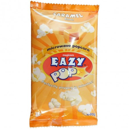 Eazy Pop Caramel microwave popcorn 90g