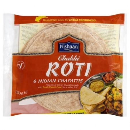 Nishaan Chakki Roti 350G (6pc)