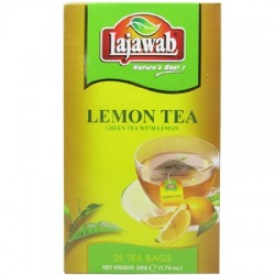 Lajawab Lemon Green Tea Bags 25's