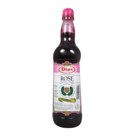 Dias Cordials Rose Syrup 750ml