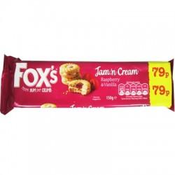 Fox's jam'n cream