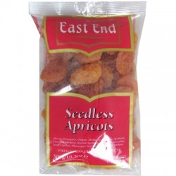 East end Seedless apricots 300g