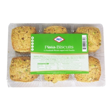 KCB Pista Biscuits (12pc)
