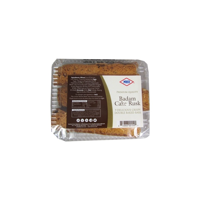 KCB Badam cake rusk