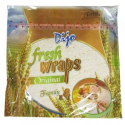 Dijo Fresh Tortilla Wraps 4pack