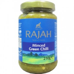 Rajah Minced Green Chilli Paste 210g