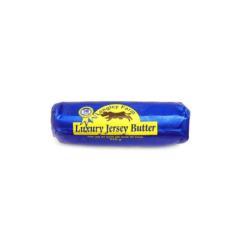 Longley farm luxury jersey butter (250g)