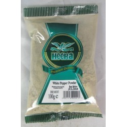 Ground White Pepper Heera 100g