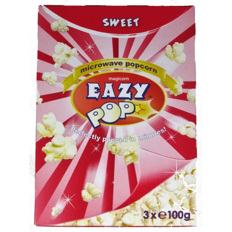 Eazy Pop microwave popcorn sweet 300g