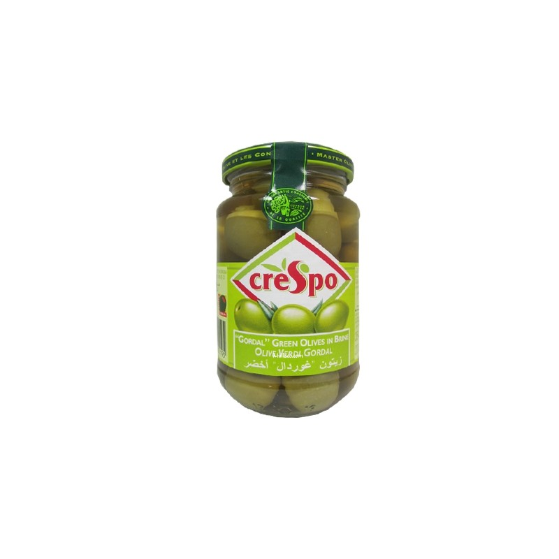 Olives Crespo Green Gordal 354g