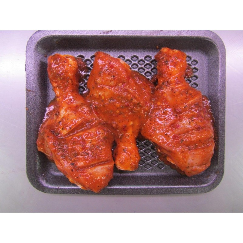 "BBQ Marinated Aunty Hajra's"" Masala Chicken Drumsticks"""