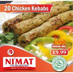 Nemat Chicken Kebabs