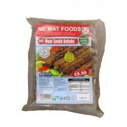 Nemat Meat Seekh KEbabs HMC 20's