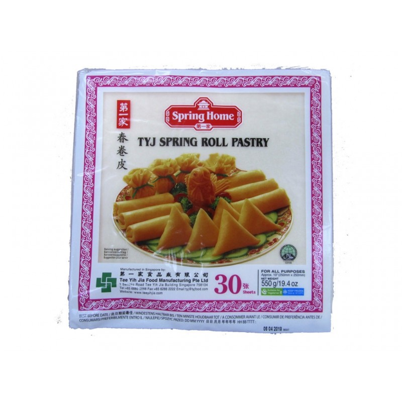 TYJ Spring Roll Pastry 10