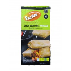 Fazilas Spicy Vegetable Parcels