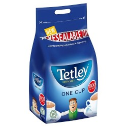 Tetley One Cup 1100 Tea Bags Resealable