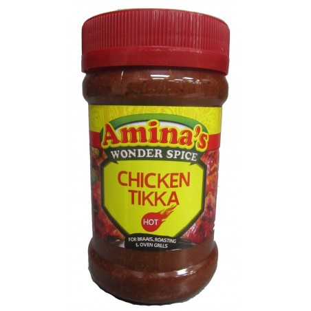 Aminas Wonder Chicken Tikka Hot Marinade 325g