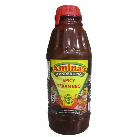 Amina's Wonder Spices Spicy Texan Pour On Marinade 500ml