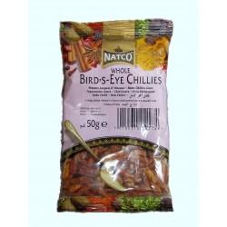 Natco Whole Bird's Eye Chillies