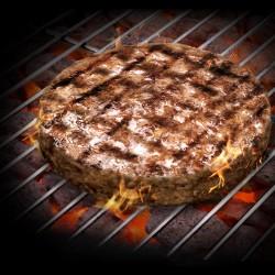 KQF Jumbo Texan Lamb Burgers 110g (Quarter Pounder) 4's